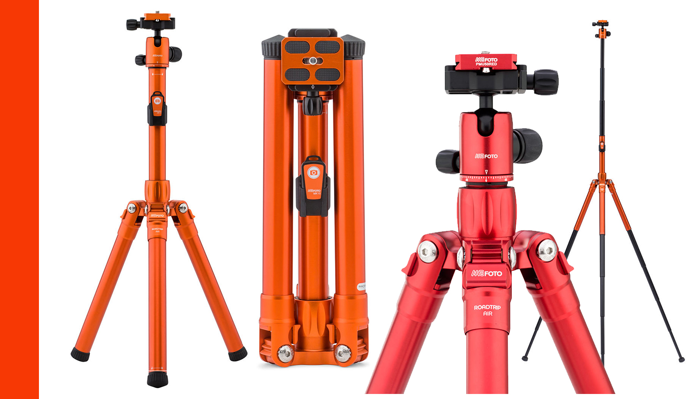 Travel Tripods Review - Rick Zeleznik - MeFoto Roadtrip Air