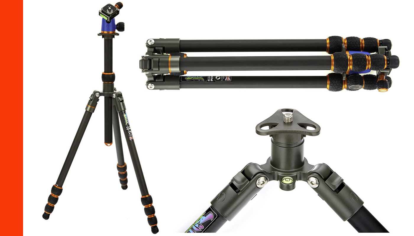 Travel Tripods Review - Rick Zeleznik - 3 Legged Thing Punks Billy